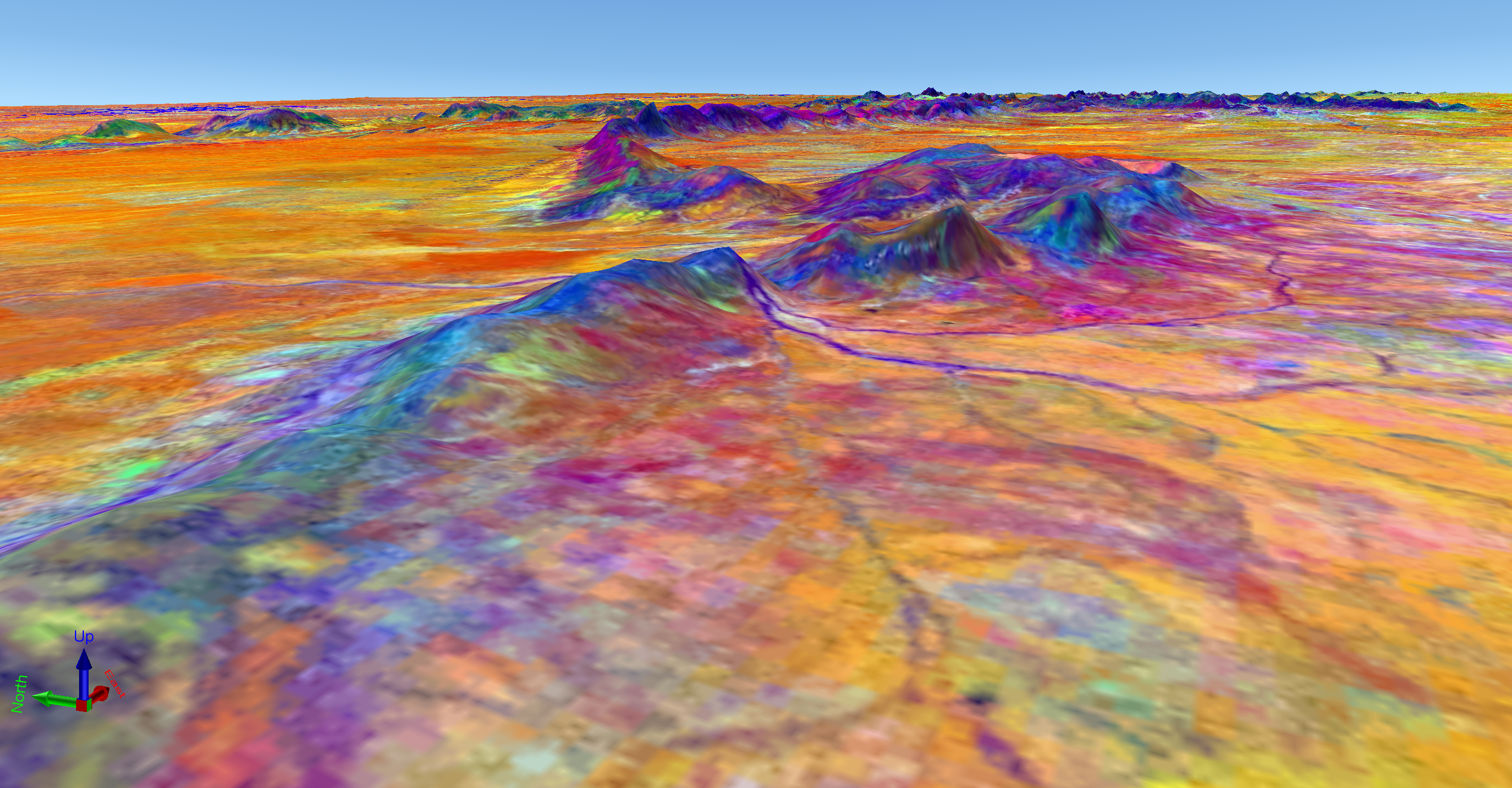 Satellite imagery in mineral exploration Part 4: Using the imagery