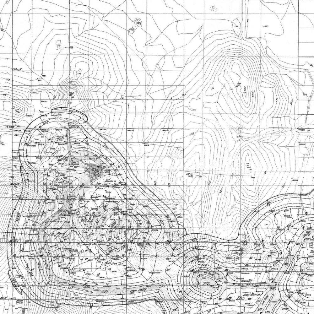 Contour Line Drawing Software : Scanning and vectorising old mine drawings maps part