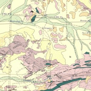 Figure 3: A scanned geology map